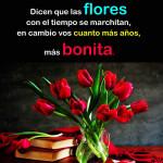 Las flores son hermosas