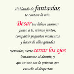 La fantasia del amor