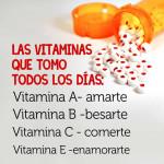 Las vitaminas del amor