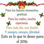 Frases para recibir el año 2016