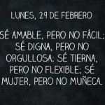 Frases como ser amable