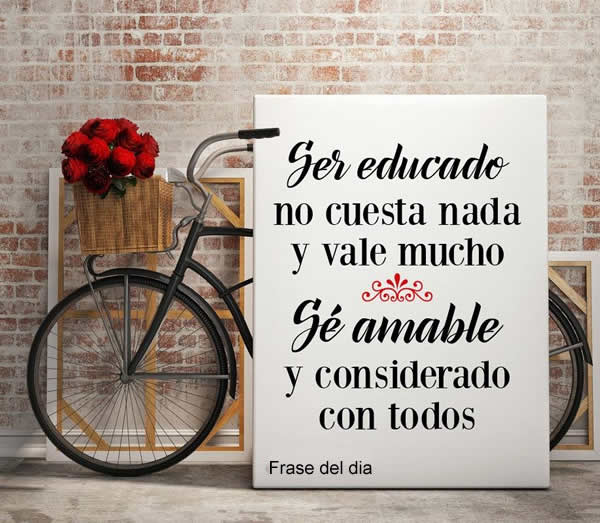 amable frases
