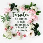 Fotos con palabras de la familia