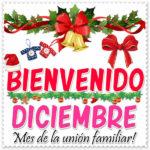 Frases de diciembre con mensajes bonitos