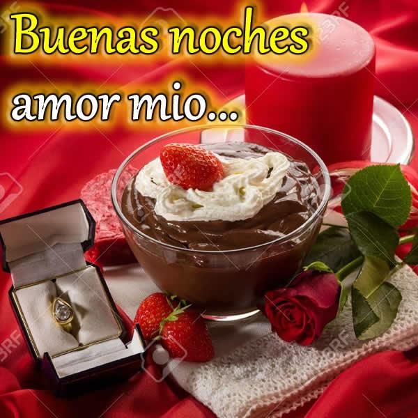 Chocolate de noche con amor
