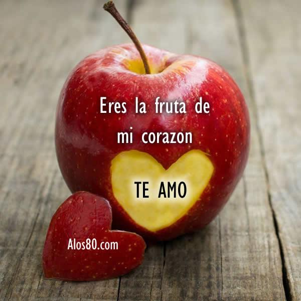 Fruta de amor para ti