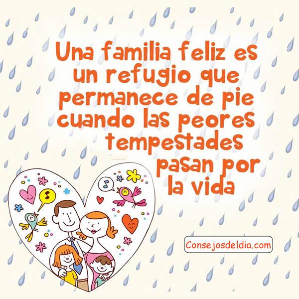 Como tener una familia feliz