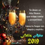 Frases: Feliz año nuevo 2019 para ti