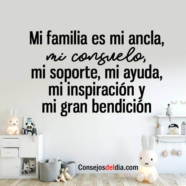 La familia es lo mas importante siempre