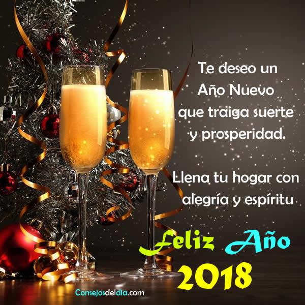 Feliz año nuevo 2018 para ti