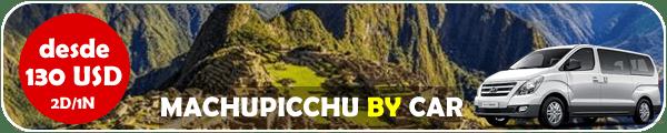 Machupicchu by car 2 dias 1 noche