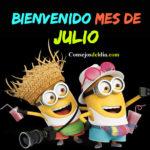 Feliz mes de Julio imagenes