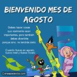 Frases: Bienvenido mes de Agosto