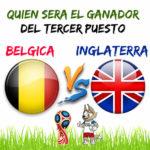 Mundial 2018: Inglaterra vs Belgica