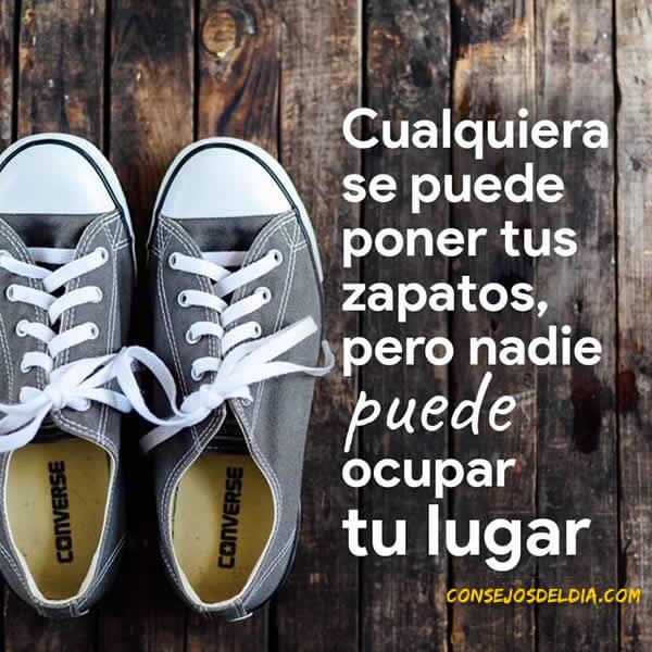 zapatos frases
