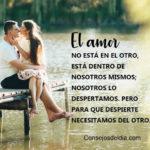 Frases bonitas de un amor bonito