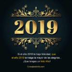 Frases lindas: Happy 2019 con mensajes