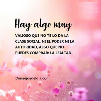 frases lealtad