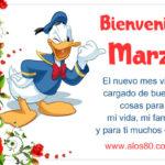Imagenes con Frases: Bienvenido mes de Marzo