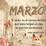 Mensajes con Frases lindas del Mes de Marzo