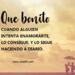 Frases lindas con Fotos de un Bonito amor