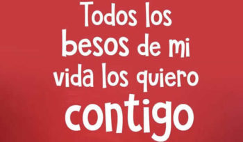 besos frases