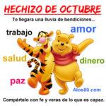 Bienvenido mes de Octubre Frases