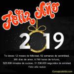 Bienvenido:Feliz año nuevo 2019