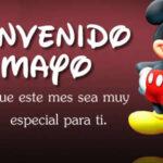 Frases de Bienvenido mes de Mayo con imagenes