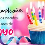 Frases de Feliz cumpleaños para el mes de Mayo