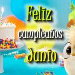 Frases Feliz cumpleaños Junio 2021 con imagenes